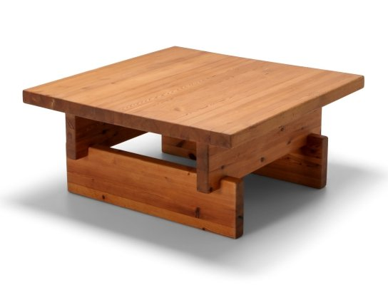 Roland Wilhelmsson Coffee Table in Pine, 1970s