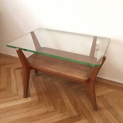 Unique Coffee Table by Karel Kozelka & Antonin Kropacek, 1940s