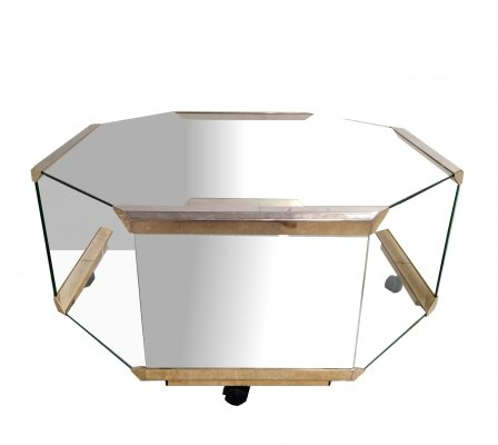 Vintage coffee table by Galotti & Radice, 1980s