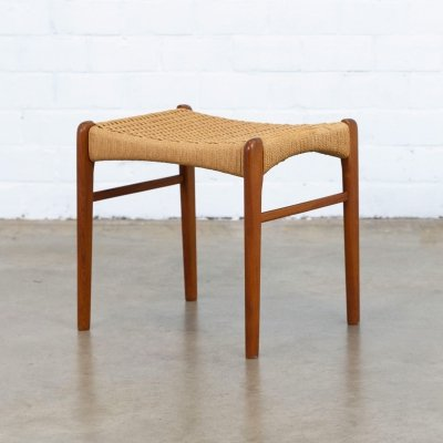 Stool by Ejner Larsen & Aksel Bender Madsen for Glyngøre, 1960s