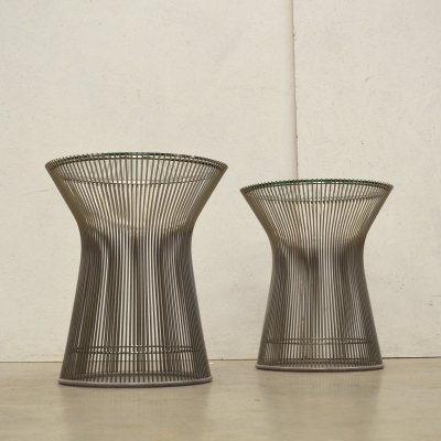 2 x side table by Warren Platner for Knoll, 1990s
