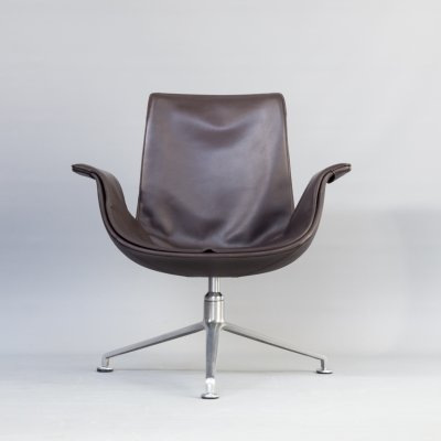 FK6727 Tulip lounge chair by Jørgen Kastholm & Preben Fabricius for Walter Knoll, 1950s