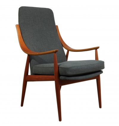 Teak Chair Model 148 by Peter Hvidt for France & Son