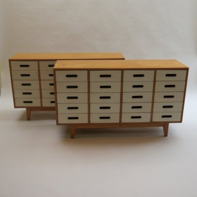 2 x Chest of drawers by James Leonard for Esavian ESA, 1950s