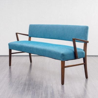 Midcentury Bench / Sofa In Dark Beech, 1960s