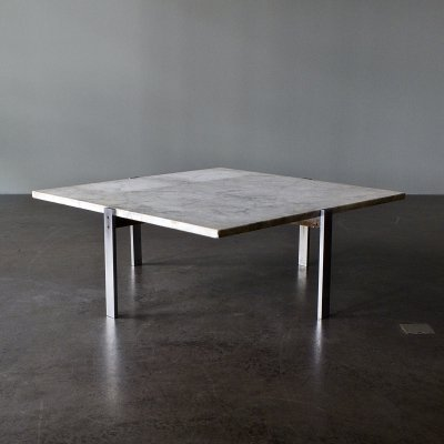 PK 65 coffee table by Poul Kjærholm for E. Kold Christensen, 1970s