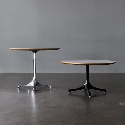 Pedestal (Occasional) Table by George Nelson for Herman Miller, 1960s