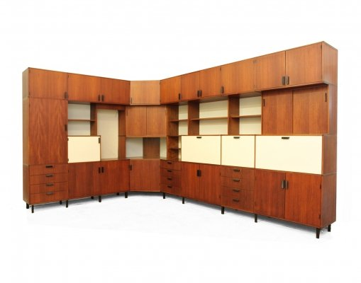 Office wall unit by Cees Braakman for Pastoe, 1970s