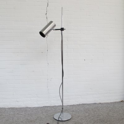 Floor lamp by Maria Pergay for Uginox ugine gueugnon, 1960s