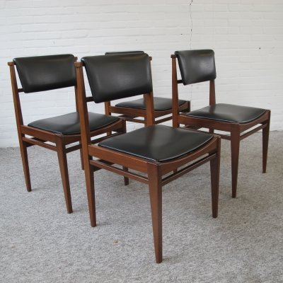 4 Danish Dining Chairs, 1960s