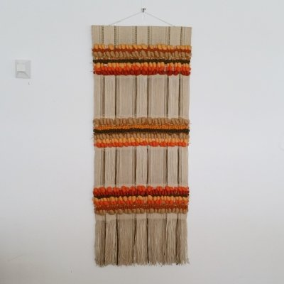 Handwoven Wool Wall Tapestry by Maria Svatina for Svatina, 1970s
