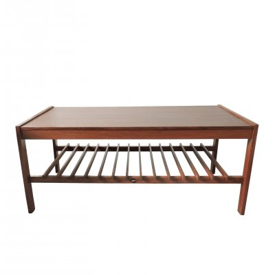 Mid-Century Teak Slatted Coffee Table by Myer, 1960s
