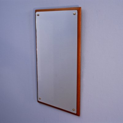 Danish mirror in teak, 1970s