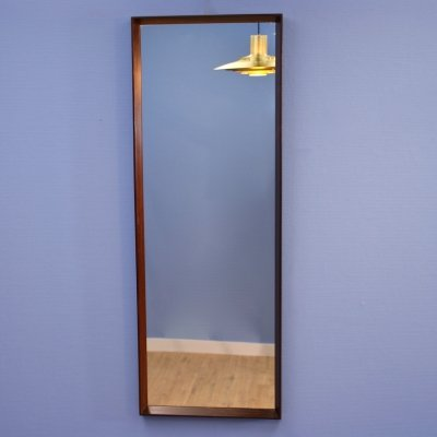 Danish mirror in rosewood, 1970s