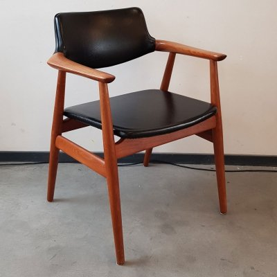 Vintage Danish teak chair by Svend Age Eriksen for Glostrup, 1960s