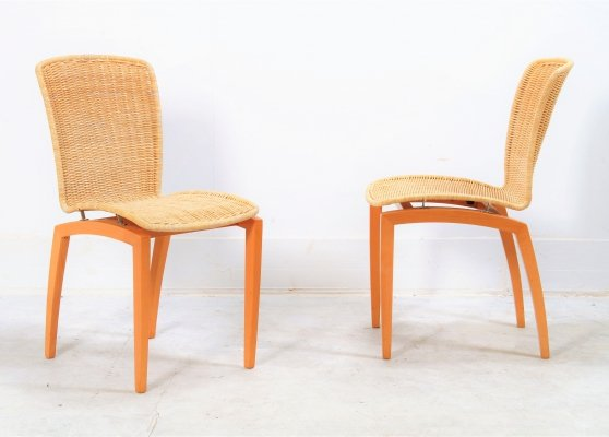 Set of 'Libra' dining chairs by Christian Werner for Ligne Roset, 1995