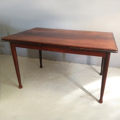 Danish extendable dining table in rosewood, 1960s