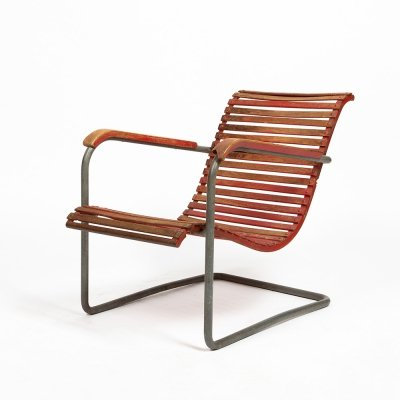 Exceptional armchair by Swiss architect Werner Max Moser, 1930s