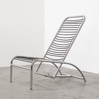 Rene Herbst Sandows Lounge Chair, 1927 / 1980s