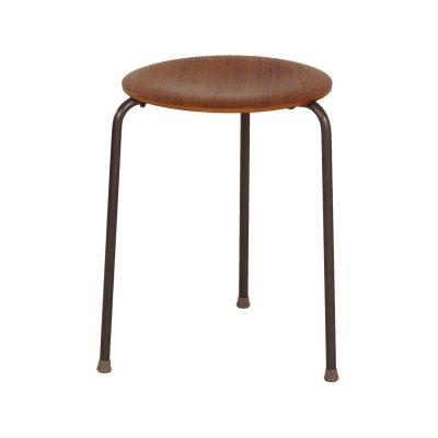 Danish Stool in Teak, 1970s