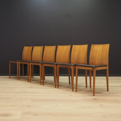 Set of 6 Anna dining chairs by Ludovica Palomba & Roberto Palomba for Crassevig, 1990s