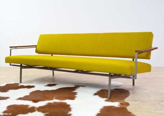 Yellow Lotus 75 sofa by Rob Parry for Gelderland, 1960s