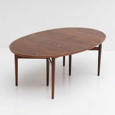 Rosewood Model 212 dining table by Arne Vodder for Sibast, 1960s