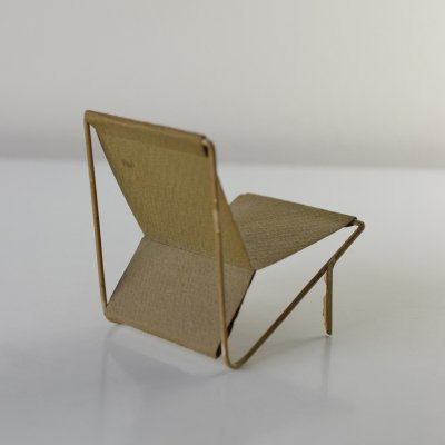 1:10 scale model chair by Architect Jan van Grunsven, 1953