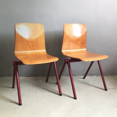 2 x Galvanitas chair, 1970s