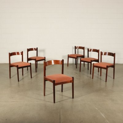 Six 1960s Chairs by Gianfranco Frattini for Cassina