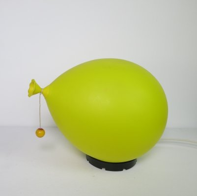 Plastic balloon lamp by Yves Christin, 1974