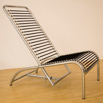 Modernist Lounge Chair by René Herbst
