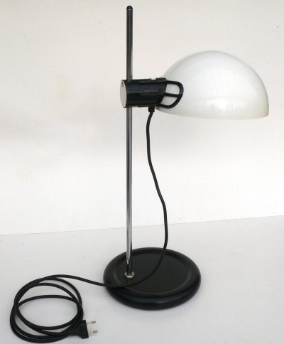 Harveiluce Guzzini Office Desk Lamp, Italy 1970's