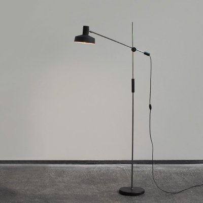 1960s adjustable floor lamp by J. Hoogervorst for Anvia