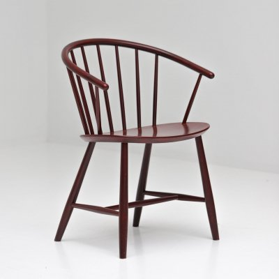 J64 arm chair by Ejvind Johansson for FDB Møbler, 1960s