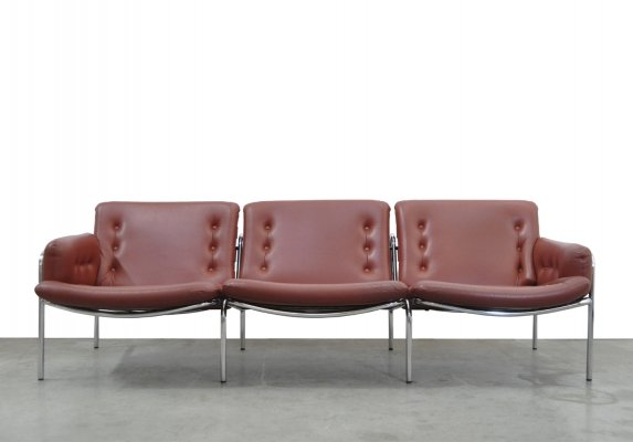 Vintage 3-seater sofa bz12 Osaka by Martin Visser for 't Spectrum, 1960s