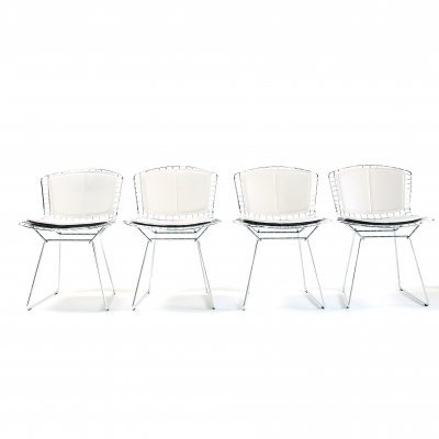 Set of 4 dining chairs by Harry Bertoia for Knoll, 1990s