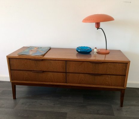 Scandinavian Design Teak Chest of drawers, 1950s