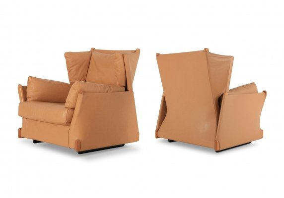 Piero de Martini Viola D'amore Armchairs for Cassina, 1977