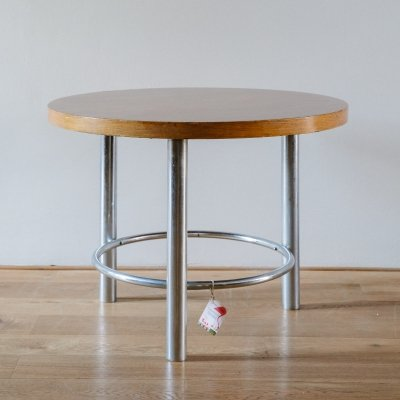 Round Tubular Steel Table by Mücke-Melder