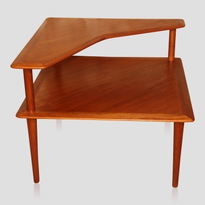Vintage Scandinavian teak 'Minerva' coffee table by Hvidt & Molgaard Nielsen