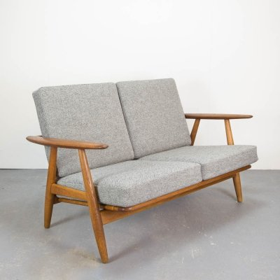 2 Seater Cigar Sofa by Hans Wegner for Getama, Denmark 1960s