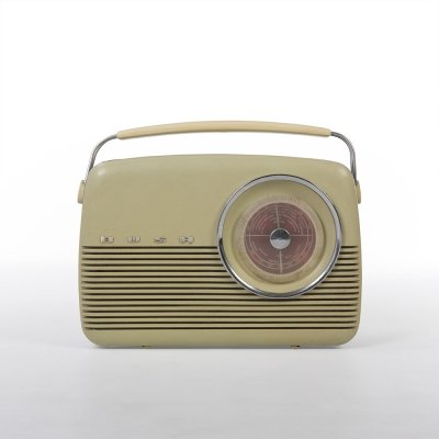 Green Beige Bush Bakelite TR82C Portable Radio, 1960s