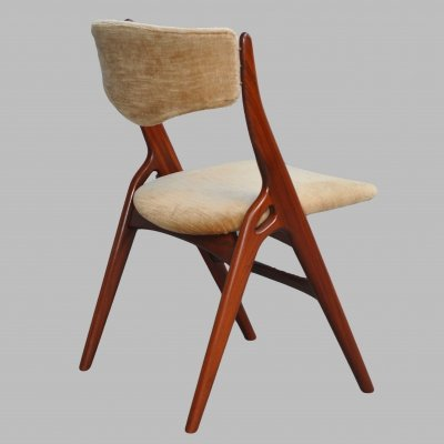 Set of 4 dining chairs by Louis van Teeffelen for Wébé, 1960s