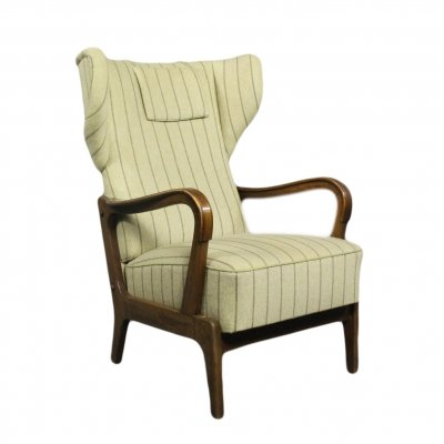 Mid-Century wing chair, 1970s