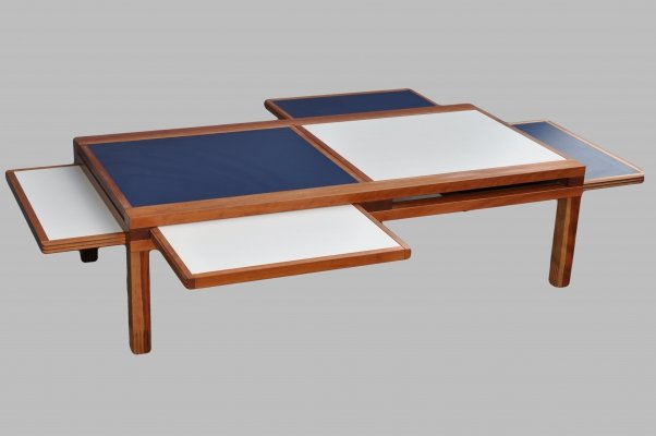 Hexa coffee table by Bernard Vuarnesson for Belatto, 1980s