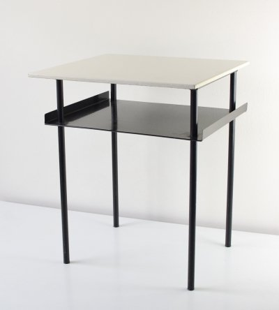 Asymetrical side table by A. Cordermeier for Auping, 1953