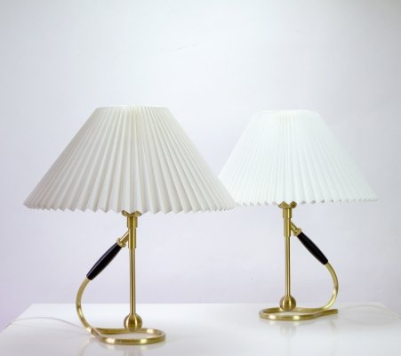 Pair of Le Klint Model 306 Table or Wall Lamps