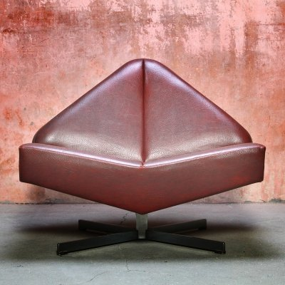 Model 628 lounge chair by Friedrich Hill for Leolux, 1960s
