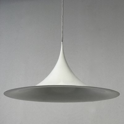 Semi hanging lamp by Torsten Thorup & Claus Bonderup for Fog & Mørup, 1960s